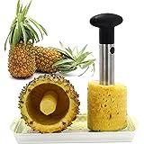 Stainless Steel Fruit Pineapple Corer Slicer Peeler Cut Remover Blades