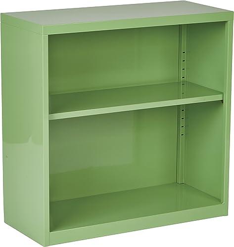 OSP Home Furnishings Metal Bookcase