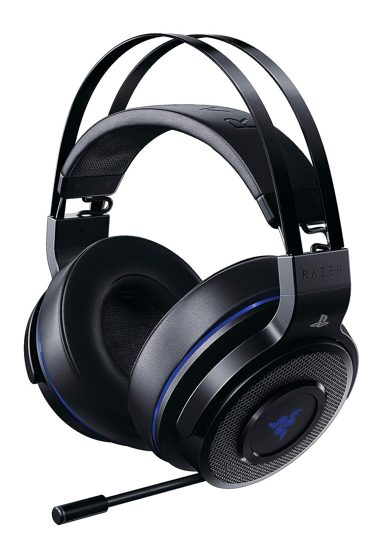 Razer Thresher Ultimate Cuffie Wireless per PlayStation 4 Dolby con Suono Surround 7.1, Leggeri Cuscinetti Auricolari in Similpelle