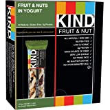 KIND Bars, Fruit & Nuts in Yogurt, Gluten Free, 1.4 Ounce Bars, 12 Count
