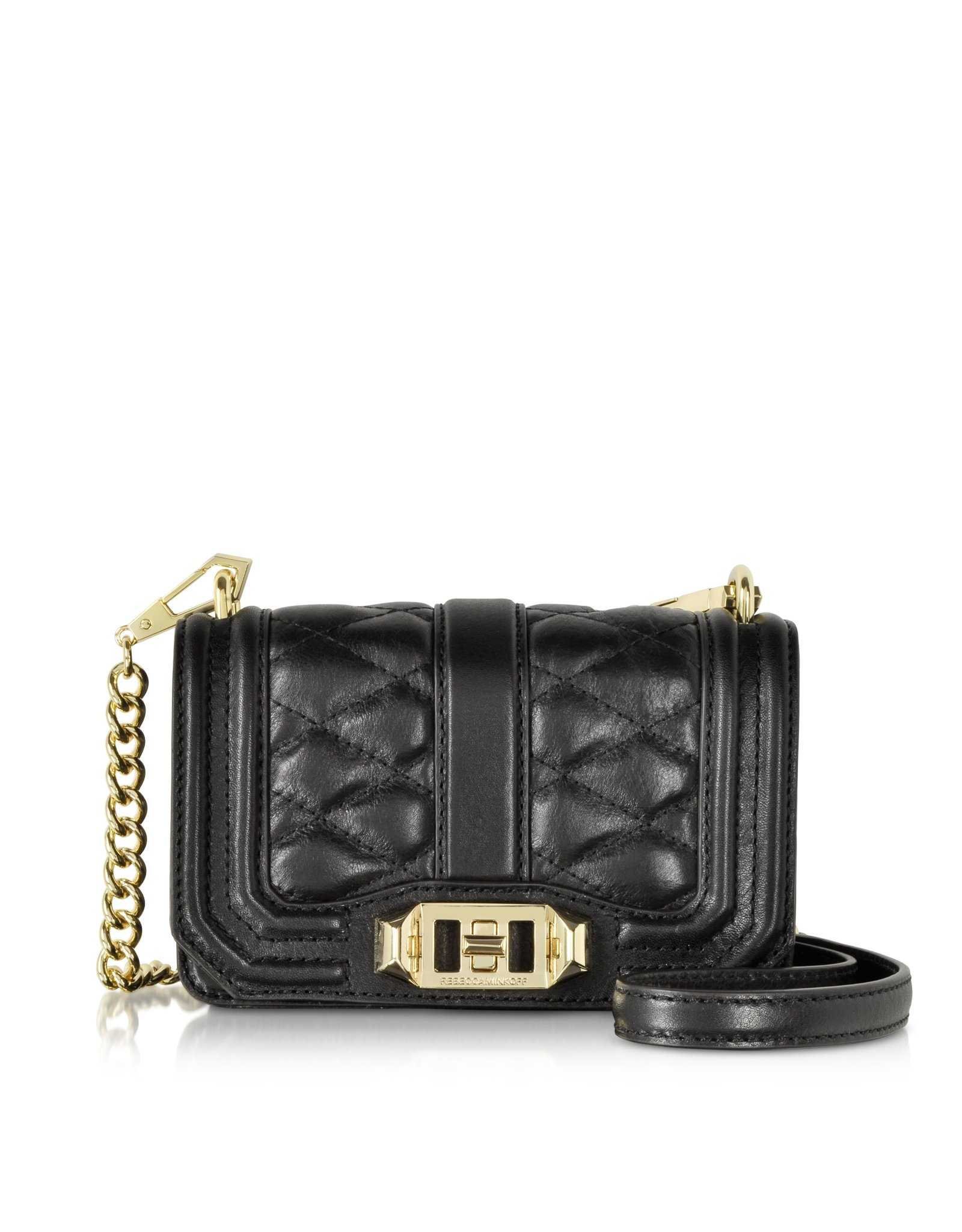 Rebecca Minkoff Mini Love Cross-Body Handbag, Black, One Size