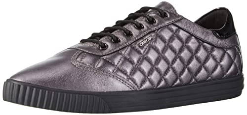 Geox D Amalthia B, Zapatillas para Mujer, Grau (GUNC1357), 41 EU