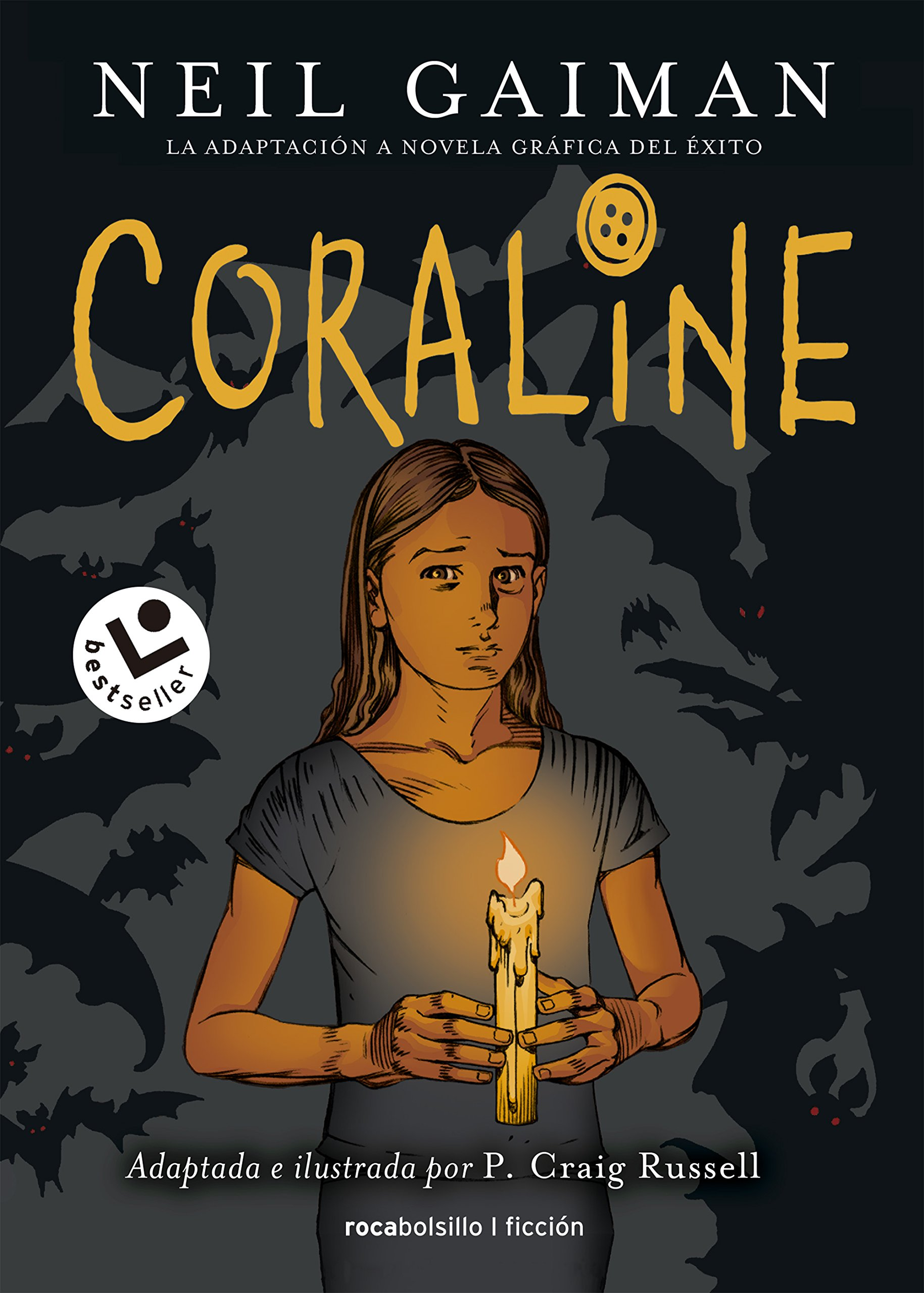 Coraline Novela grafica (Spanish Edition) by Roca