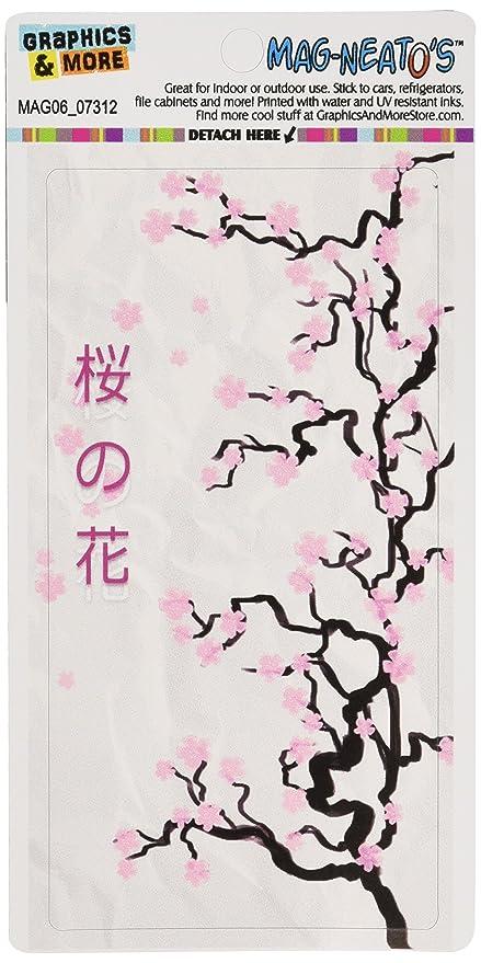 Cherry Blossoms - árbol de escritura japonés símbolos mag-neato ...
