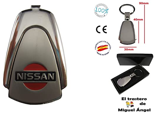 Llavero de coche Nissan