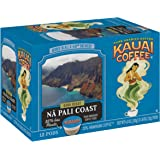 Kauai Coffee Single-Serve Pods, Na Pali Coast Dark Roast – 100% Arabica Coffee from Hawaii's Largest Coffee Grower, Compatibl