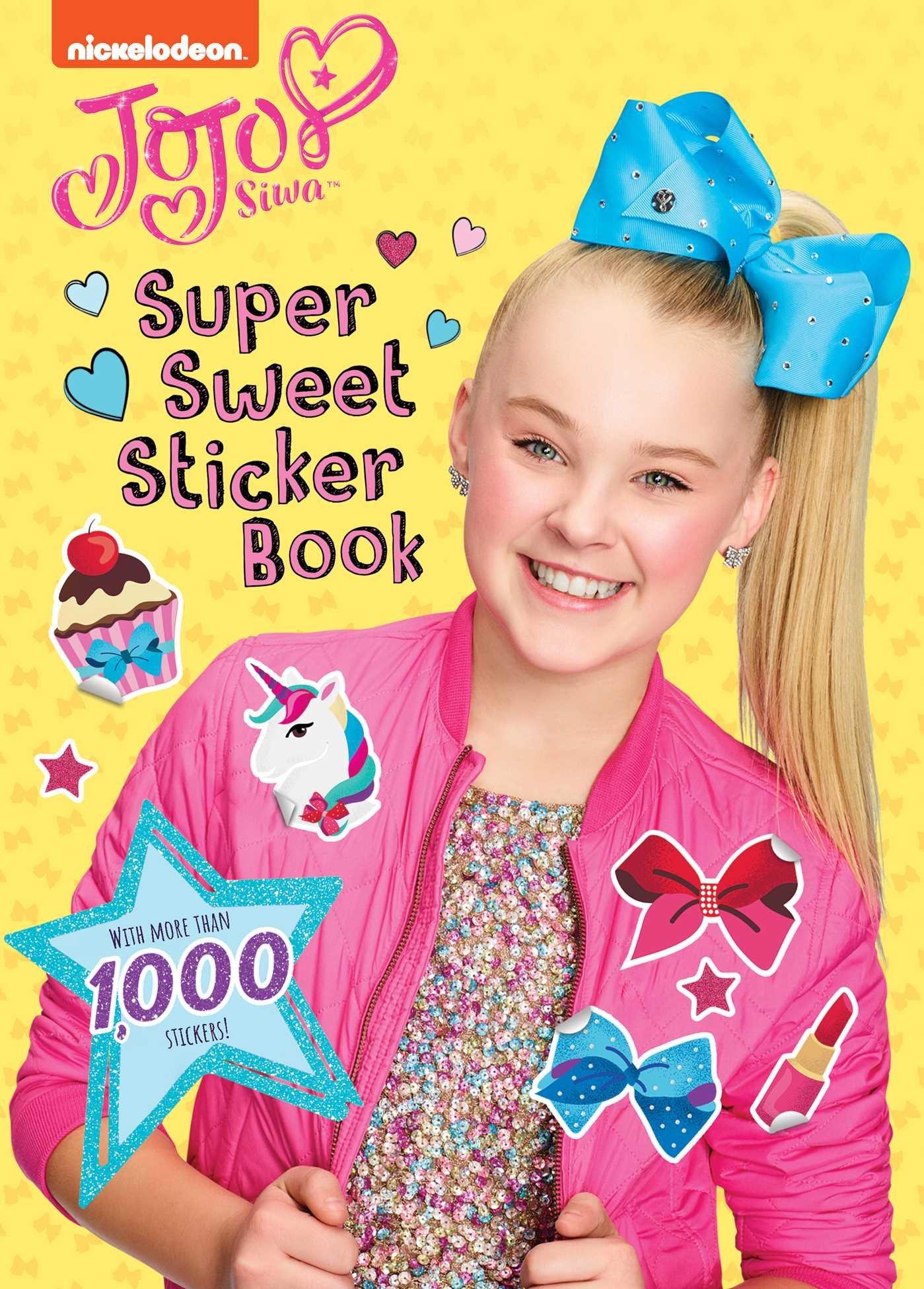 10 small JOJO SIWA VINYL stickers