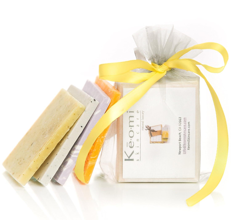Amazon.com : ORGANIC HANDMADE SOAP SAMPLER SET - Scented w/100% Pure ...