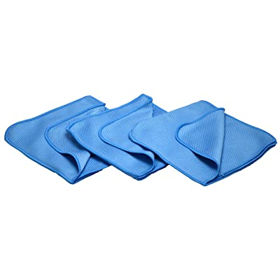McKee's 37 MK37-99003 Spider Flip Glass Towel, Blue, (Pack of 3): Automotive