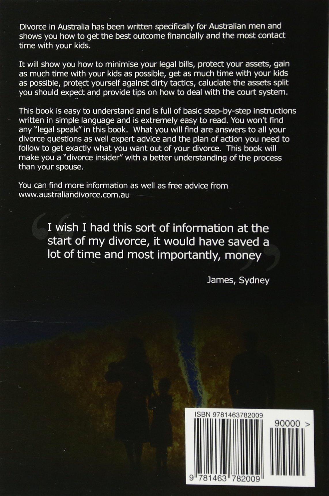 Buy divorce in australia a guide for australian men volume 1 book buy divorce in australia a guide for australian men volume 1 book online at low prices in india divorce in australia a guide for australian men volume solutioingenieria Images