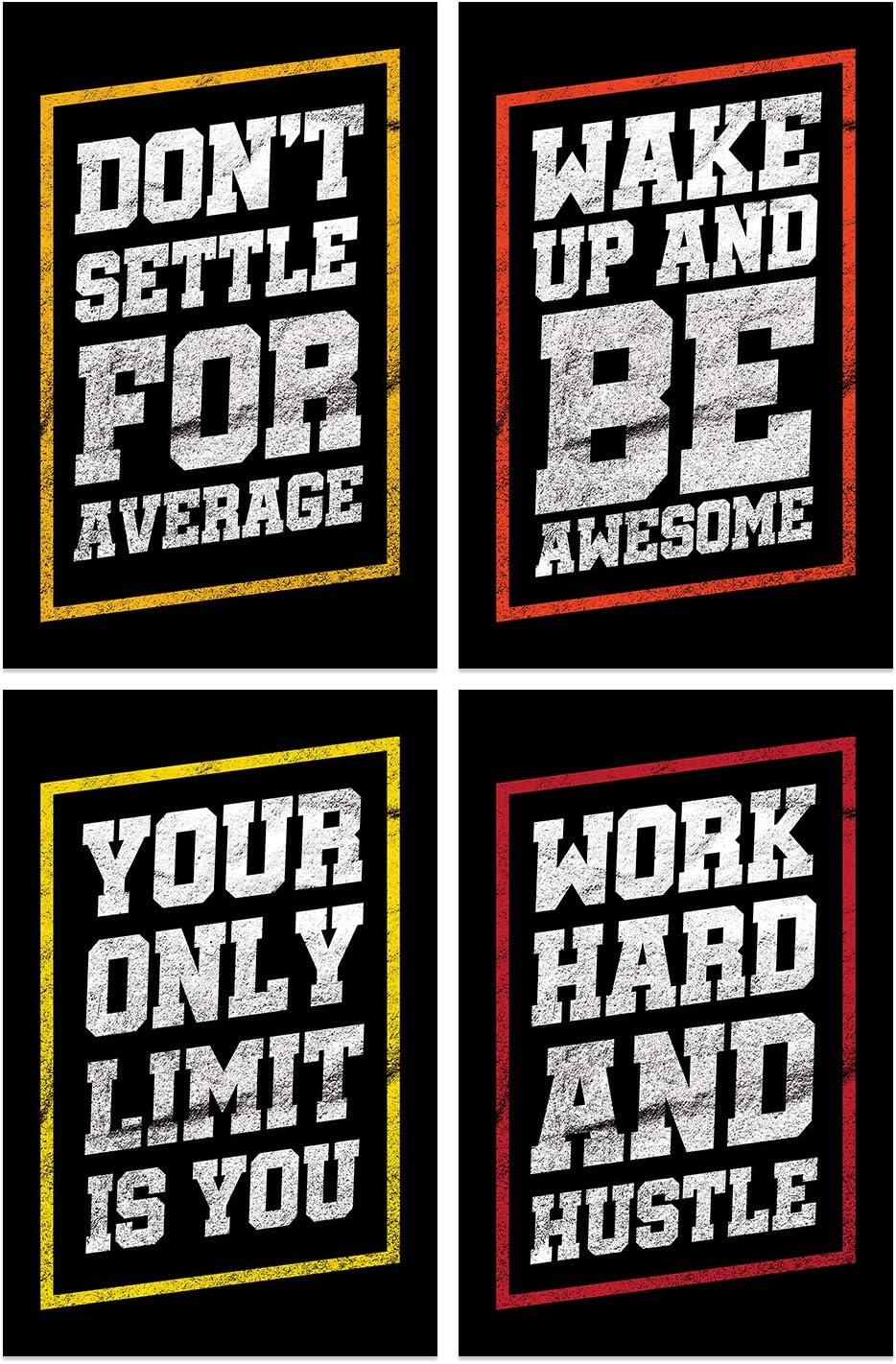 Damdekoli Inspirational Posters, 11x17 Inches, Set