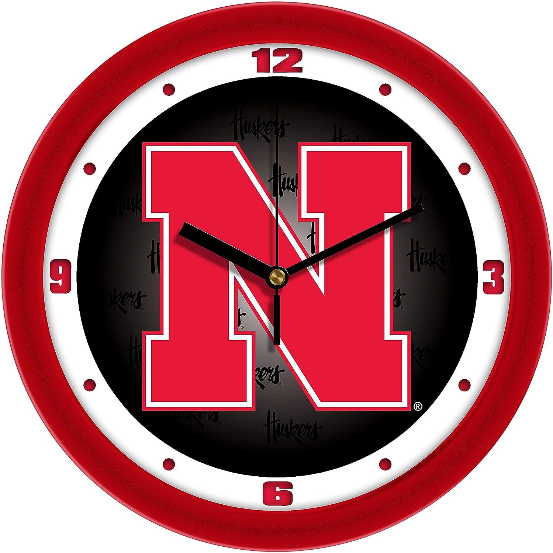 SunTime Nebraska Cornhuskers Dimension Wall Clock