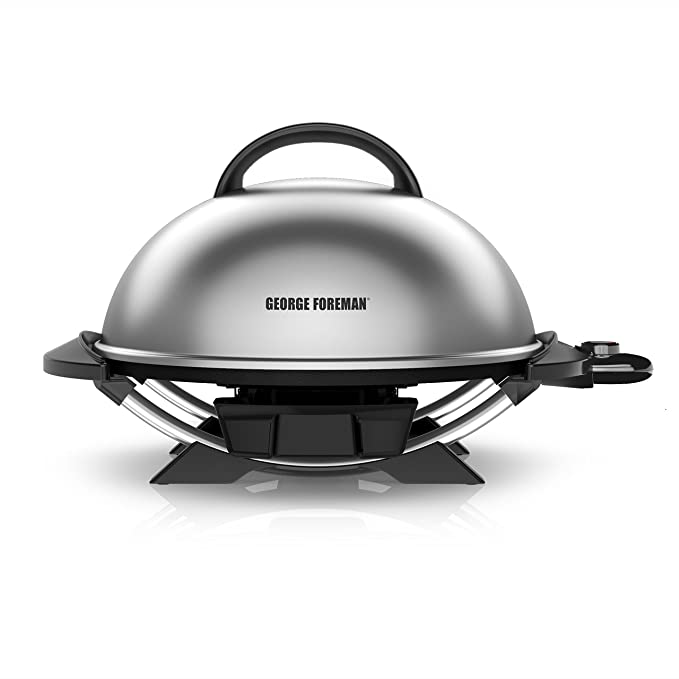 George Foreman GFO240S 15-Serving Indoor/Outdoor Electric Grill – Best for Hunting