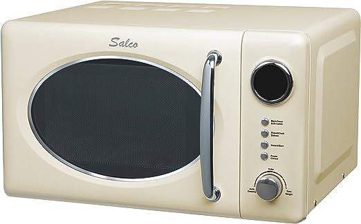 Salco SRM-20.6G (Diseño Retro, Microondas Combinado, 20 L, 700 W ...