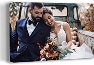 Personalized Photo to Canvas Print Wall Art 30x20 Inch Custom Your Photo On Canvas Wall Art Digitally Printed
