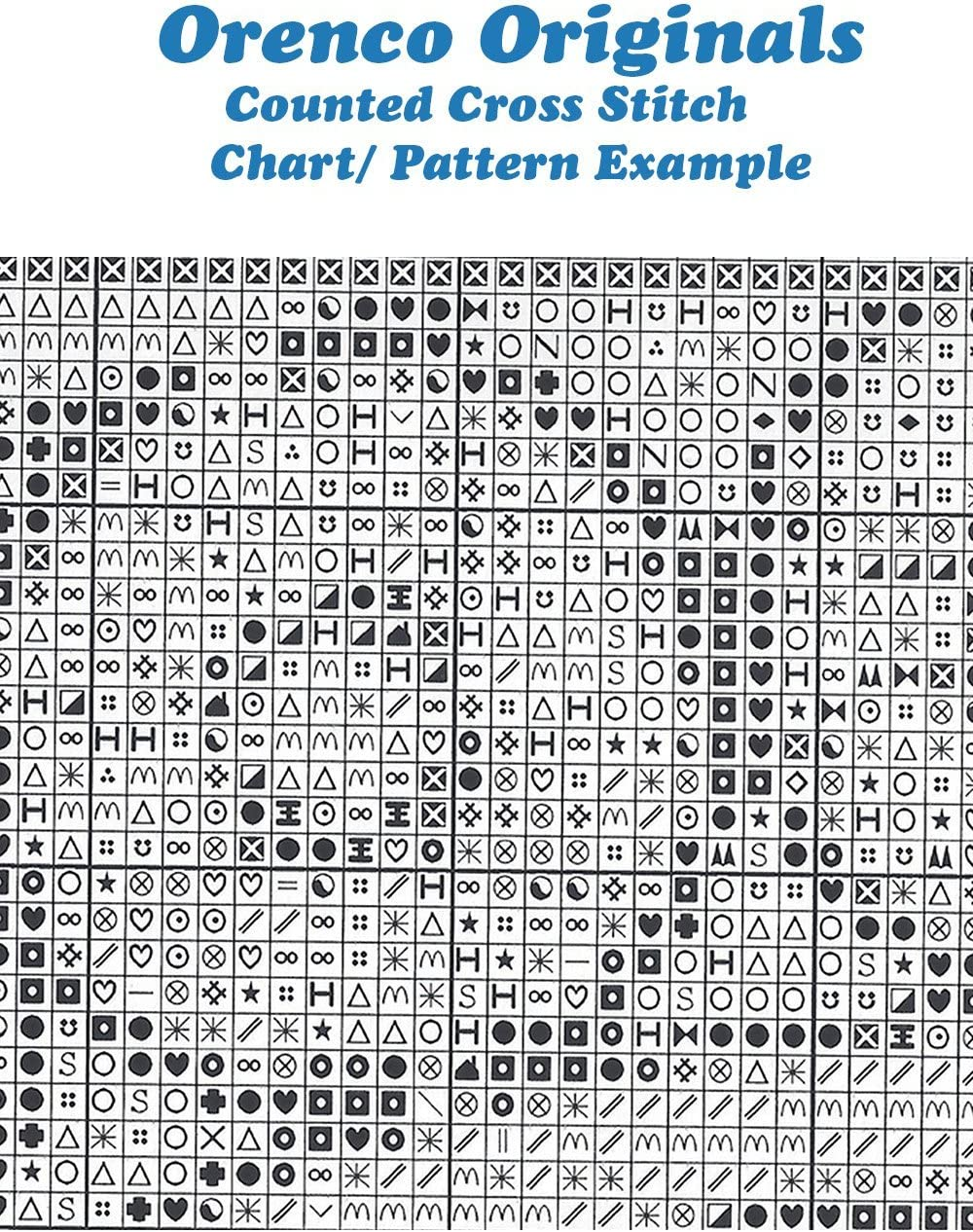 Orenco Originals Amish Quilt Design Treasury #2 Counted Cross Stitch Charts Bonus Pattern