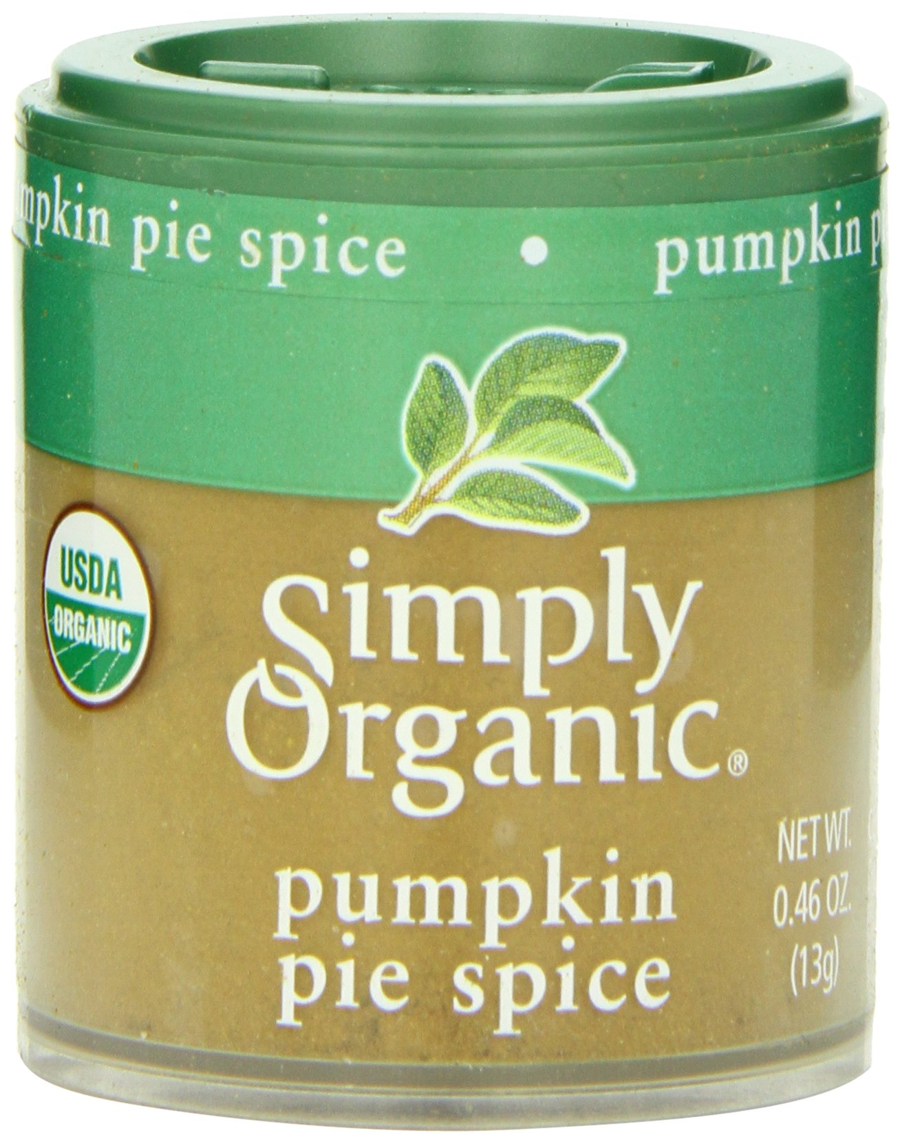 Simply Organic Pumpkin Pie Spice, Mini Spice, 0.46 Ounce (Pack of 6)