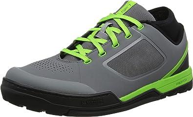 SHIMANO - Zapatillas de Ciclismo para Hombre Gris Verde 46 EU ...