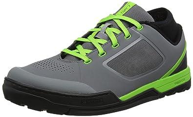 c8ec051337a Amazon.com   SHIMANO SH-GR7 Shoes Grey/Green Shoe Size 45 2019 Bike ...