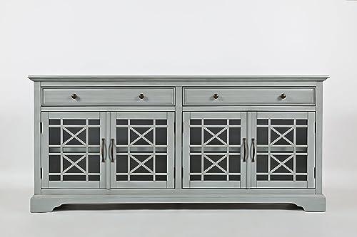 Jofran , Craftsman, 70 Media Unit, 70 W X 19 D X 32 H, Earl Grey Finish, Set of 1