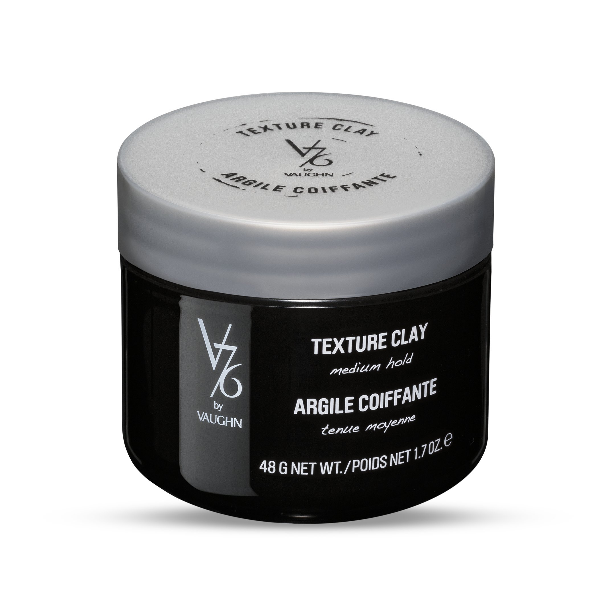 V76 by Vaughn TEXTURE CLAY Medium Hold Formula for Men
