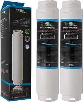 2 x FilterLogic FFL-110B Filtro de agua compatible con 3M UltraClarity 00740560 , 740560