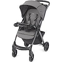 Chicco Mini Bravo Plus Lightweight Stroller, Graphite, 19.6, pounds