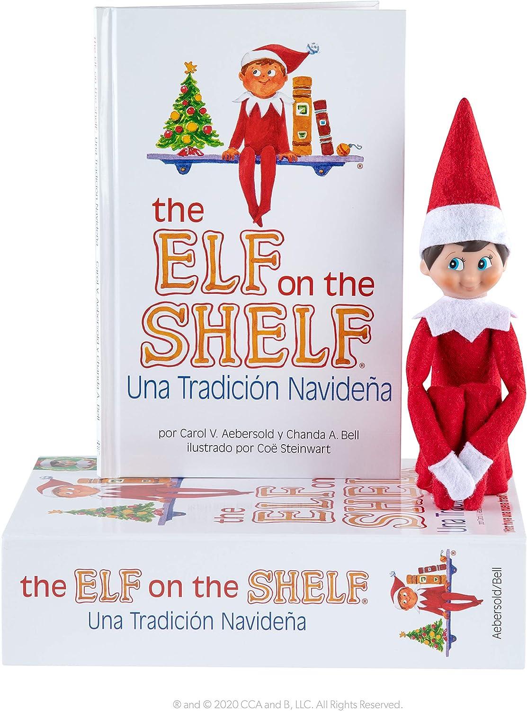 Cefa Toys The Elf ON The Shelf: Cuento Y MUÑECO Elfo NIÑO (en Español)