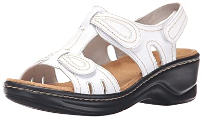 4769029412ba7a CLARKS Women s Lexi Walnut Platform White 5 Medium US