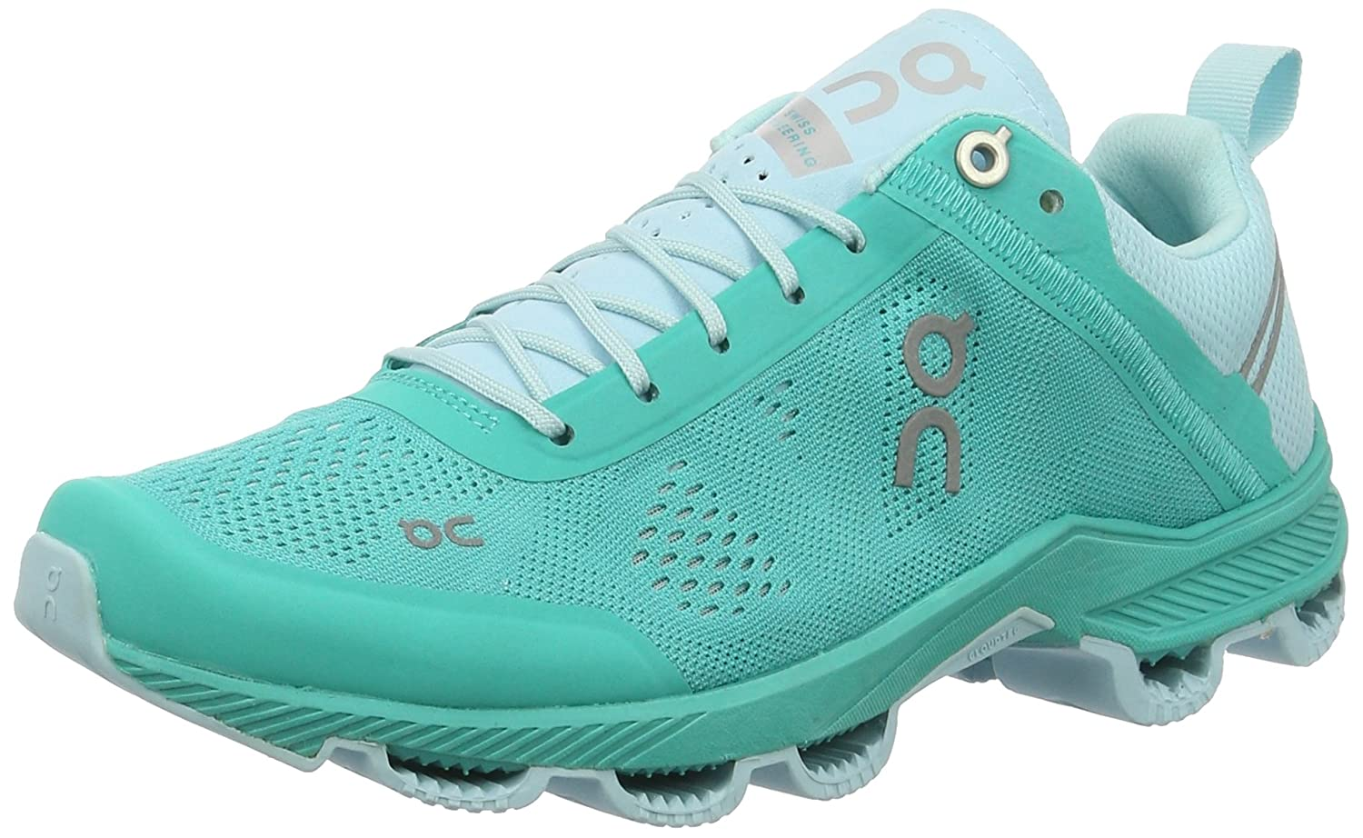 ON Women's Cloudsurfer Sneaker B019DHYYD4 8.5 B(M) US|Atlantis/Haze