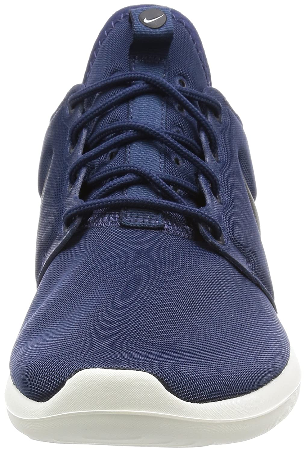 NIKE Men's Roshe Two Running Shoe B00CF6SOCI 7.5 M US|Midnight Navy / Black-sail-volt