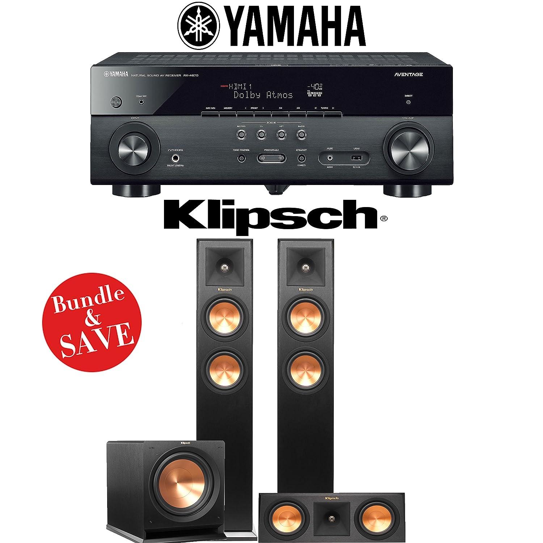 Amazon com: Yamaha AVENTAGE RX-A670BL 7 2-Ch 4K Network AV