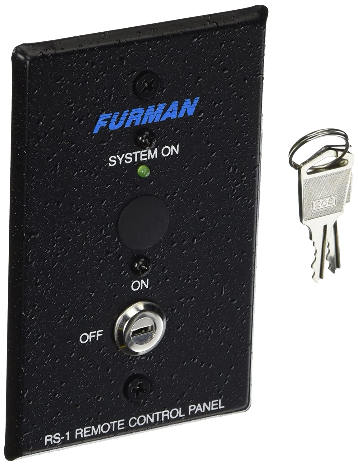 Furman RS-1 Remote System Control of Furman Power Sequencers, Keyswitch Panel, Maintained Contact On/Off Sequence Furman Pro