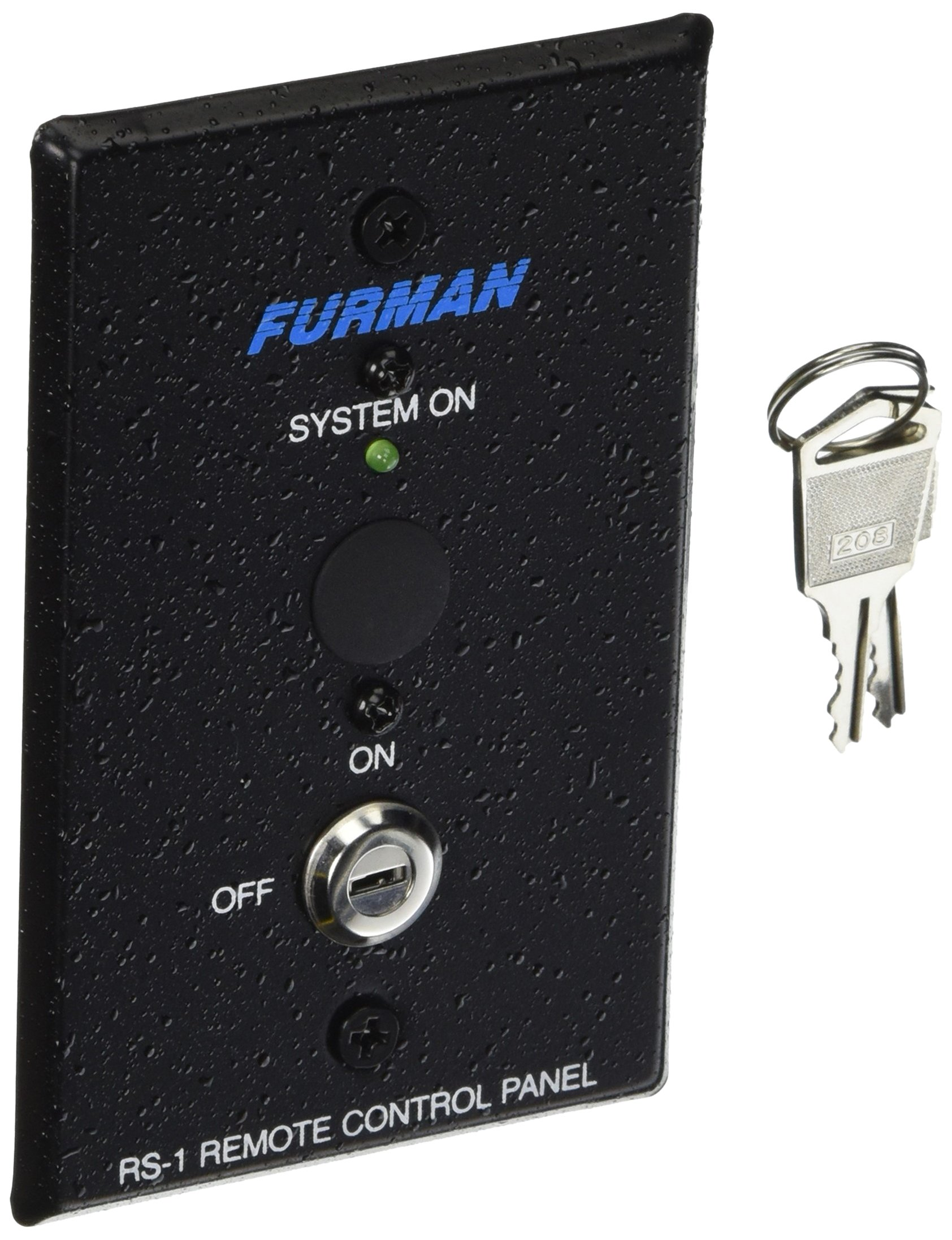 Furman RS-1 Remote System Control of Furman Power Sequencers, Keyswitch Panel, Maintained Contact On/Off Sequence by Furman