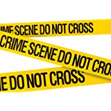Crime Scene Do Not Cross Barricade Tape 3 X 100 • Bright Yellow with a bold Black Print for High Visibility • 3 in. wide for Maximum Readability • Tear Resistant Design