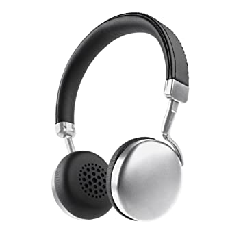 Photive HF1 ligero auriculares Bluetooth. Auriculares inalámbricos de diadema con Incredible HD Audio y 12