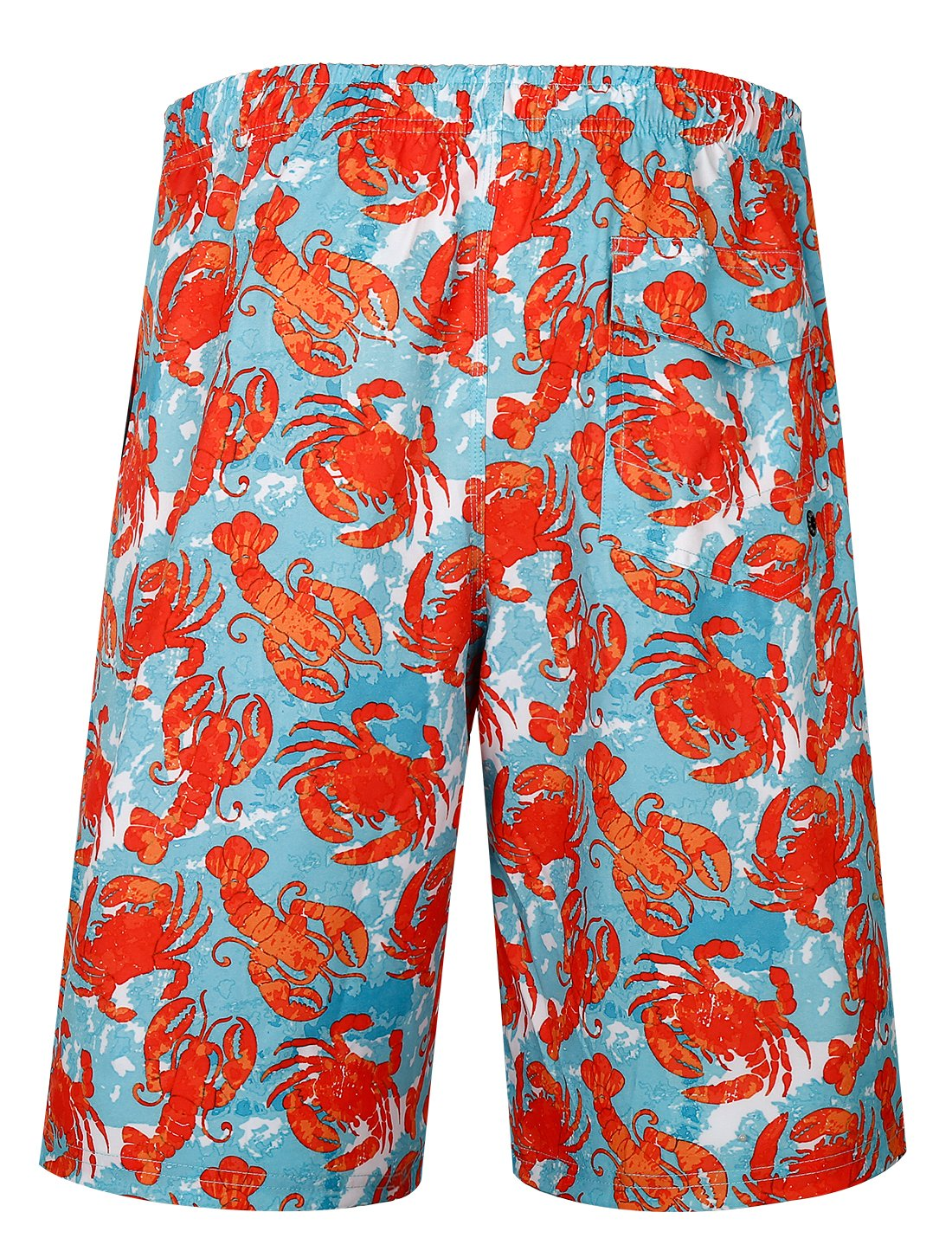 APTRO Men's Swim Trunks Crab Printing Bathing Suit #HW016 XXL by APTRO (Image #2)