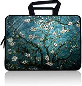 """Laptop Sleeve 15 inch 15.6"""" Neoprene Protector Bag Ultrabook Notebook Chromebook Computers Carrying Case Cover for 15.6 15"""" MacBook Pro HP Dell Acer Asus Samsung Toshiba Lenovo Huawei Sony"""