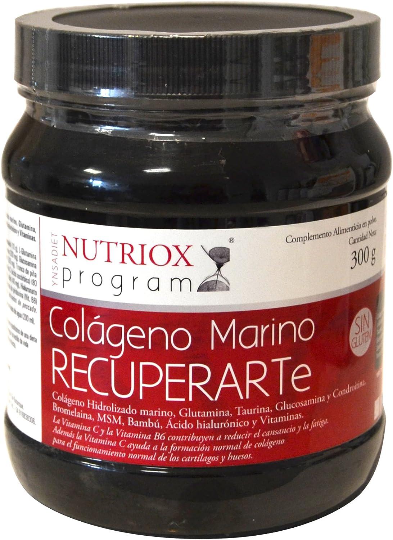 Nutriox Colágeno Marino Recuperador Complemento Alimenticio - 300 gr: Amazon.es: Salud y cuidado personal