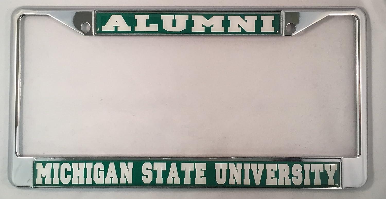 Amazon.com: Michigan State University Alumni License Plate Frame ...