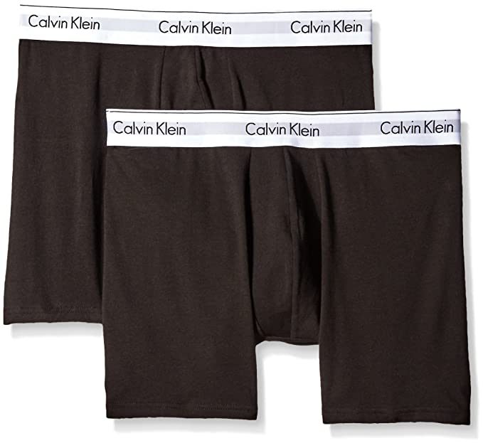 6d45d6462c Calvin Klein Men s Underwear 2 Pack Modern Cotton Stretch Boxer Briefs