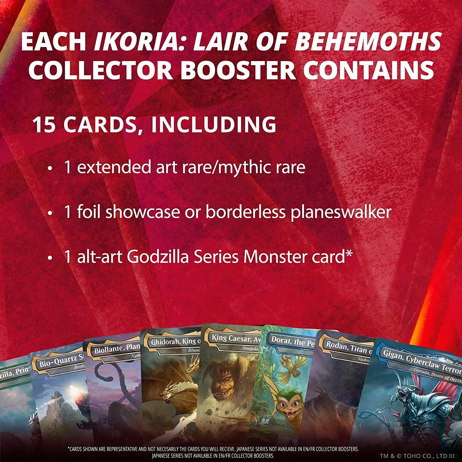 Wizards of the Coast Magic The Gathering Ikoria: Lair of Behemoths Collector Booster Display (12) Eng: Amazon.es: Deportes y aire libre