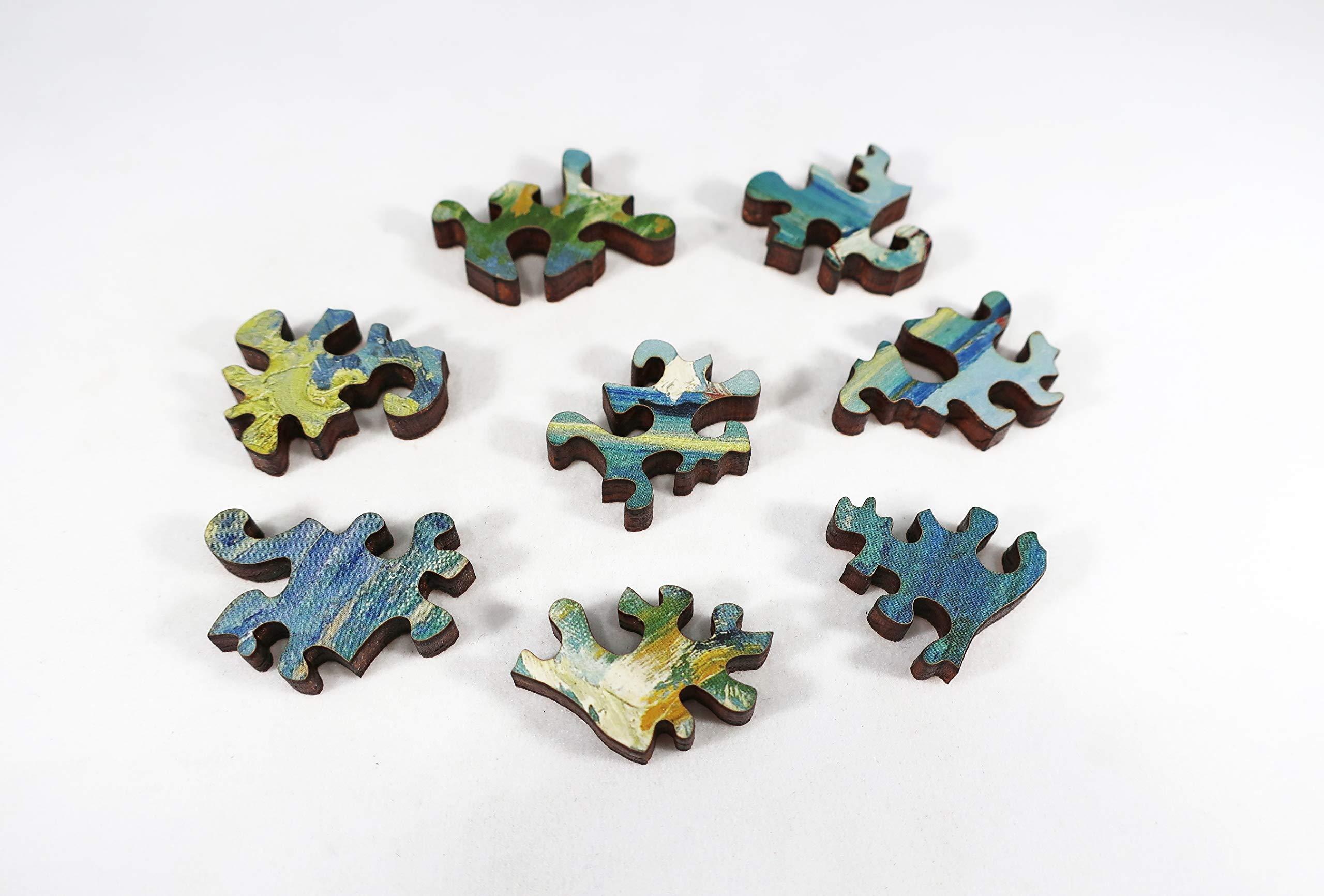 Artifact Puzzles - Van Gogh Sea at Saintes-Maries Wooden Jigsaw Puzzle
