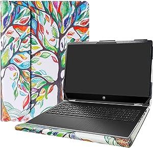 "Alapmk Protective Case for 15.6"" HP Pavilion x360 15 15-dqXXXX (15-DQ0077NR)/HP OMEN Gaming 15-ekXXXX 15-enXXXX (15-ek0023dx) Laptop[Not fit Pavilion X360 15-crXXXX 15-brXXX 15-bkXXX],Love Tree"