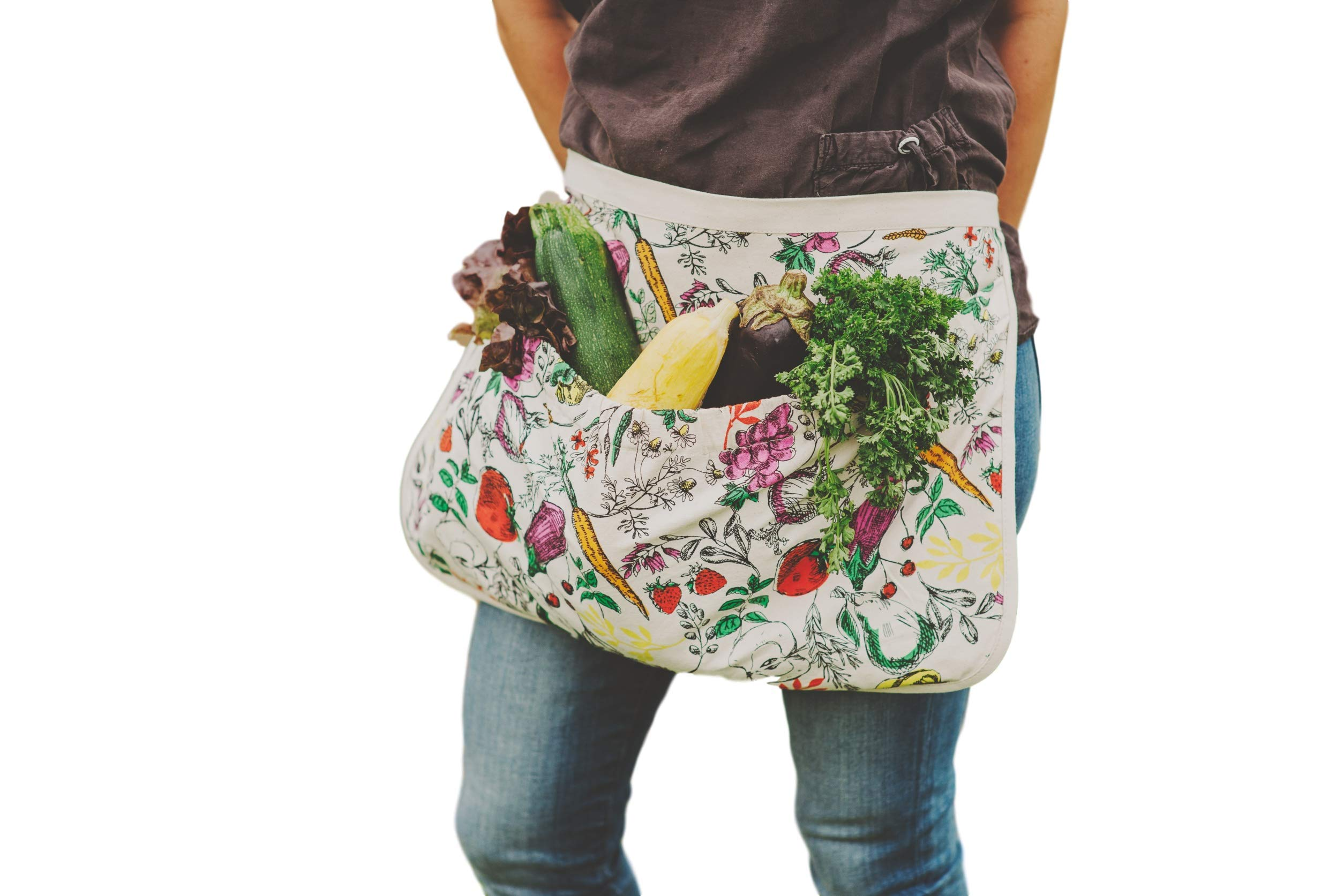 Fluffy Layers The Harvest Apron Gardening Apron, Gathering Apron, Apron for Gardening