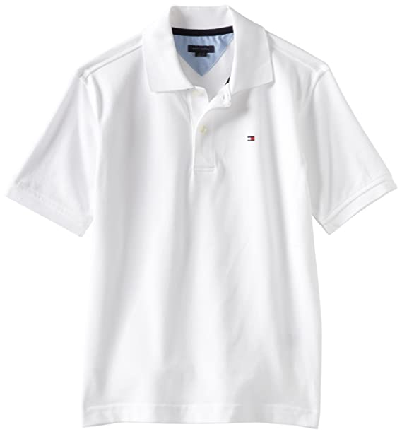 f89e8c10350c2 Tommy Hilfiger Boys  Short Sleeve Ivy Polo Shirt  Amazon.ca  Clothing    Accessories
