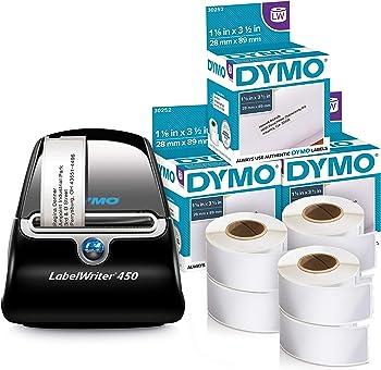 DYMO LabelWriter 450 Professional Label Printer Bundle