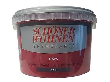 SCHÖNER WOHNEN FARBE Wand- und Deckenfarbe Trendfarbe Napa ...
