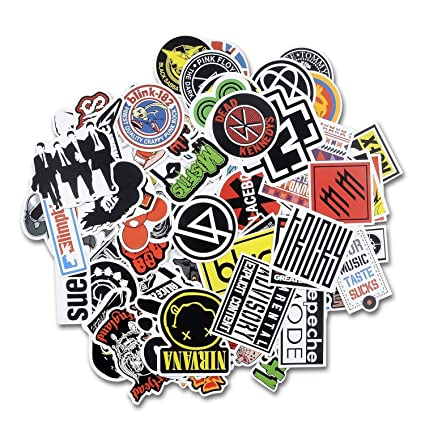 Band Stickers Amazon