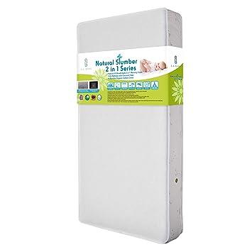 Amazon.: Natural VII Breath Safe 2 in 1 Memory Foam Crib
